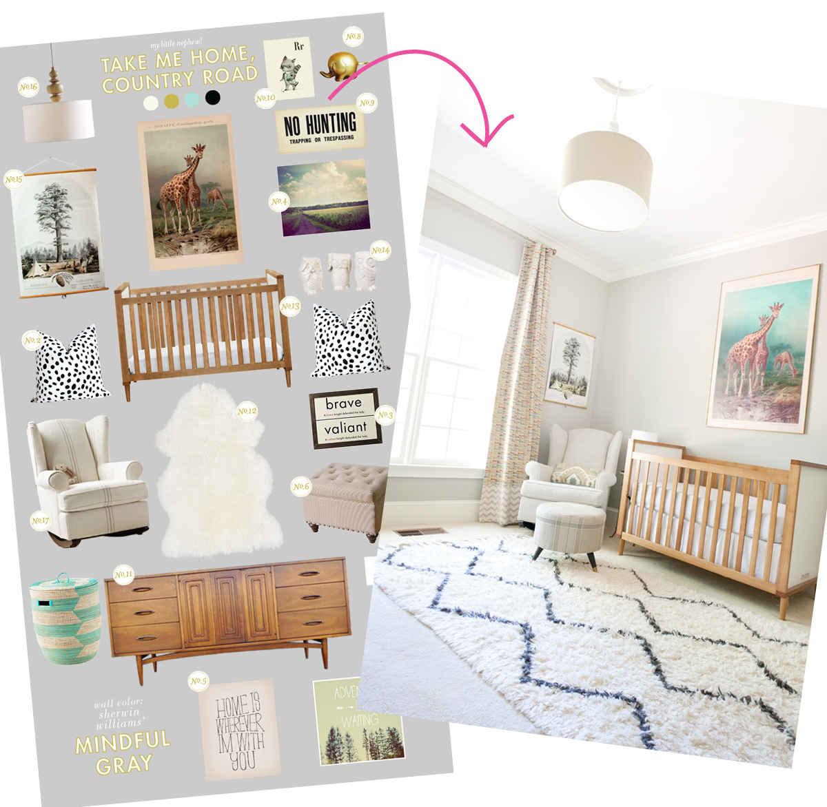 baby room design giveaway