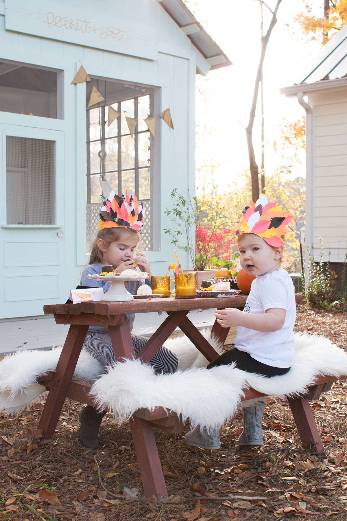 thanksgiving kid's table ideas