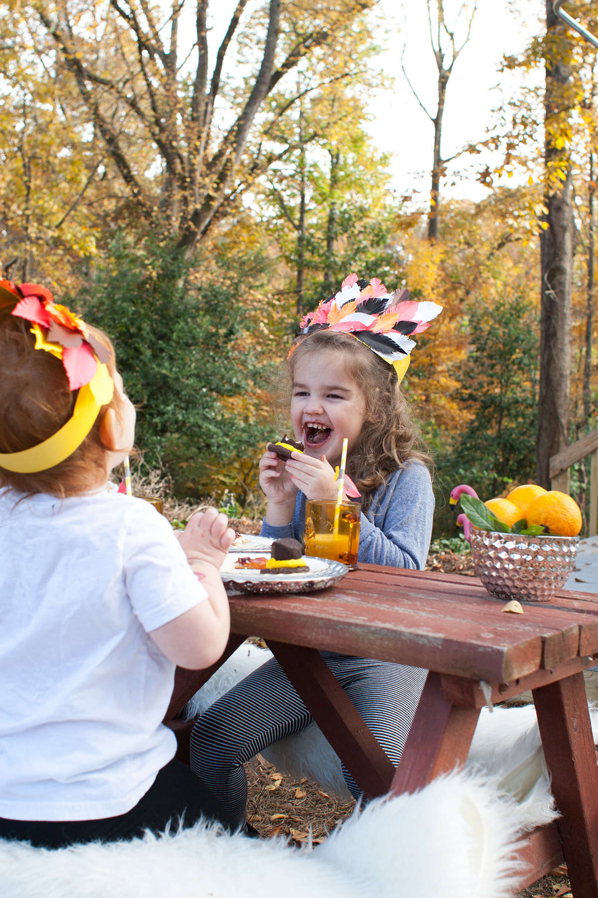 thanksgiving kid table ideas