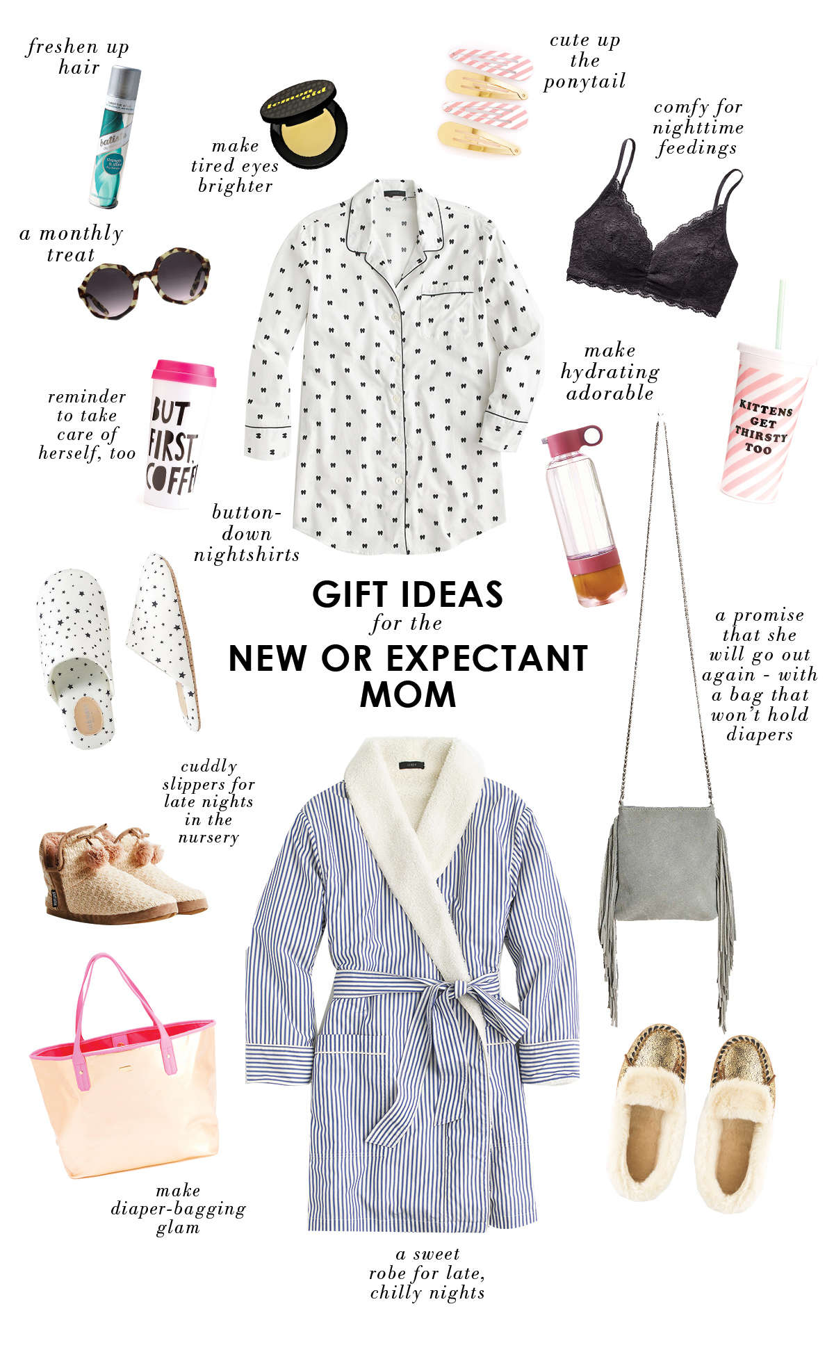 Baby Gifts For Expecting Mothers : Gift ideas for a new or expectant mom lay baby