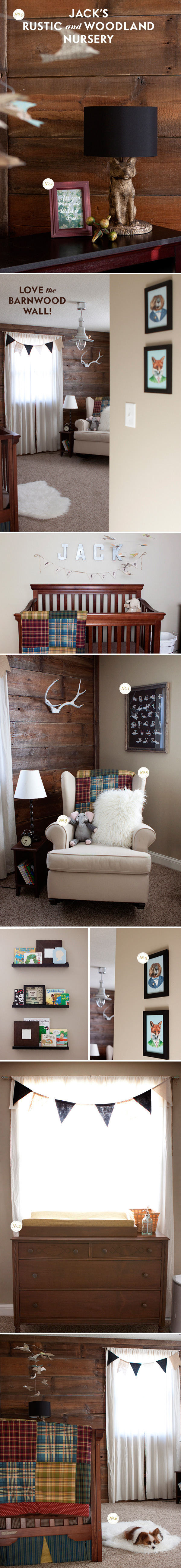 woodland boy room ideas