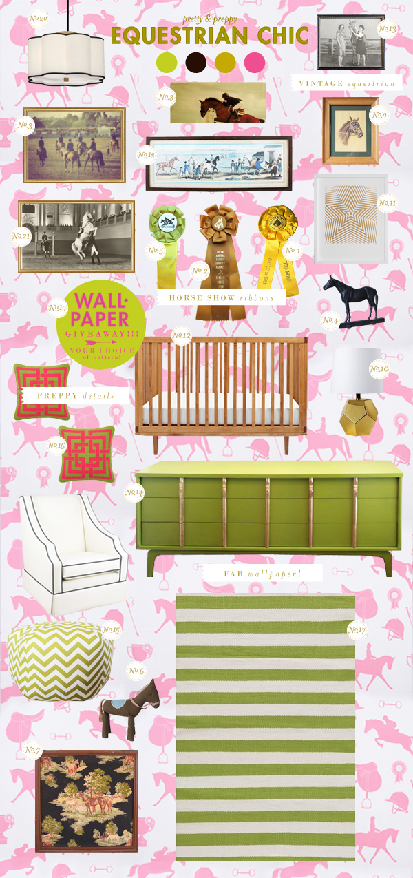 horses baby girl room ideas