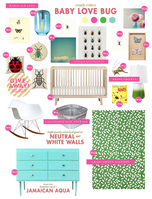 bug baby room ideas