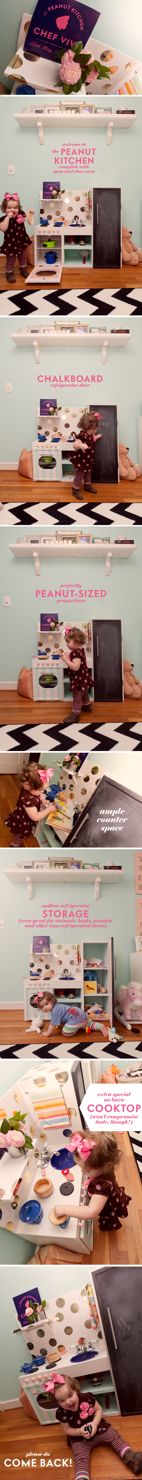 girl play kitchen ideas