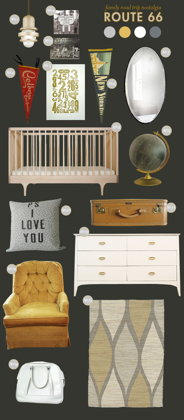 route 66 baby nursery ideas