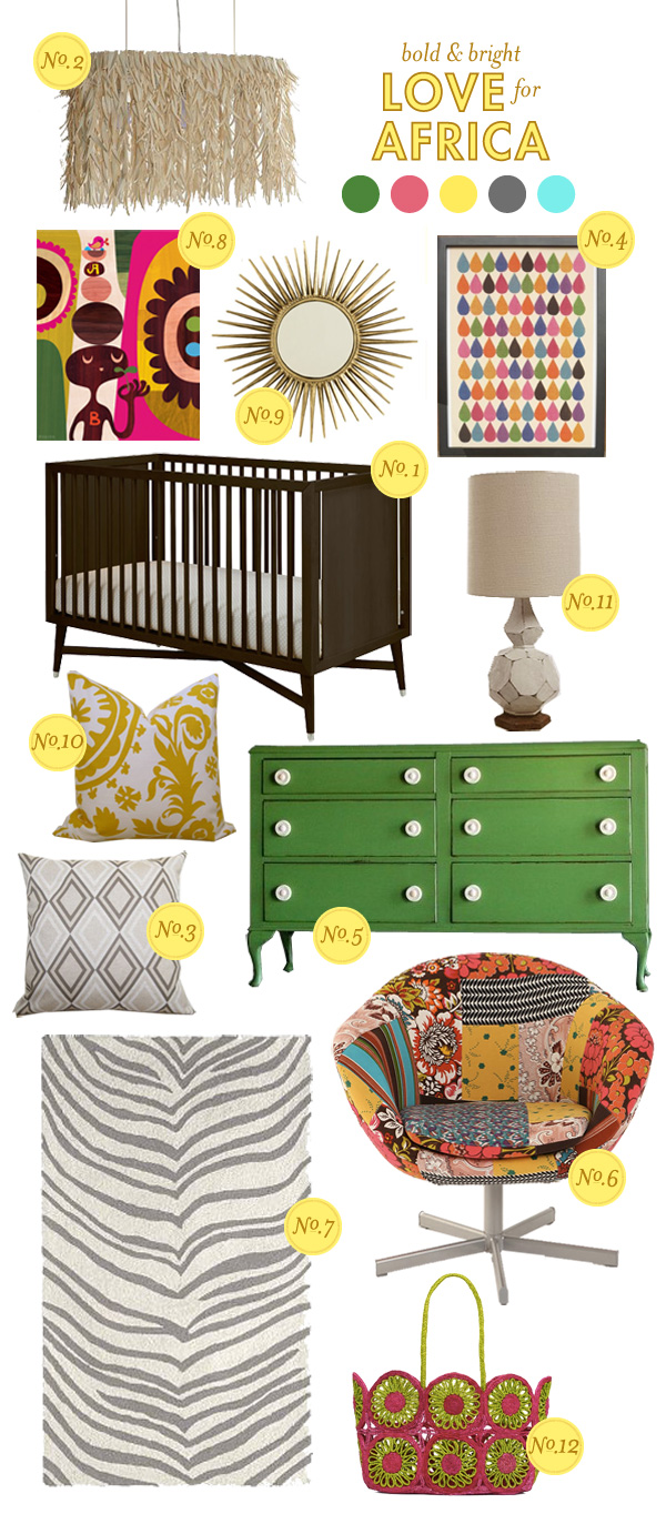 neutral nursery inspiration board