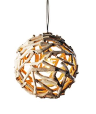 driftwood ball pendant light lay baby lay lay baby lay