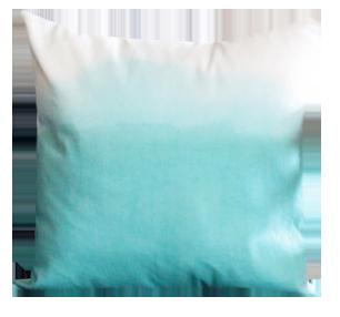 Mint Dip Dye Pillow - Lay Baby Lay Lay Baby Lay