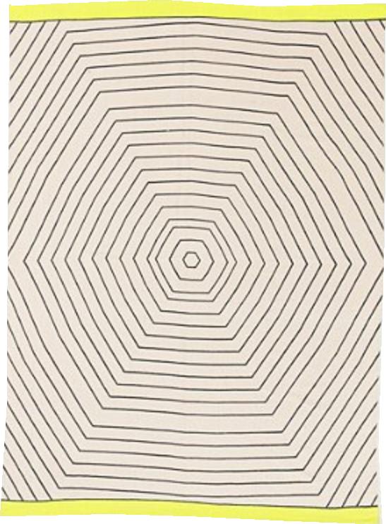 Locust Hexagon Rug