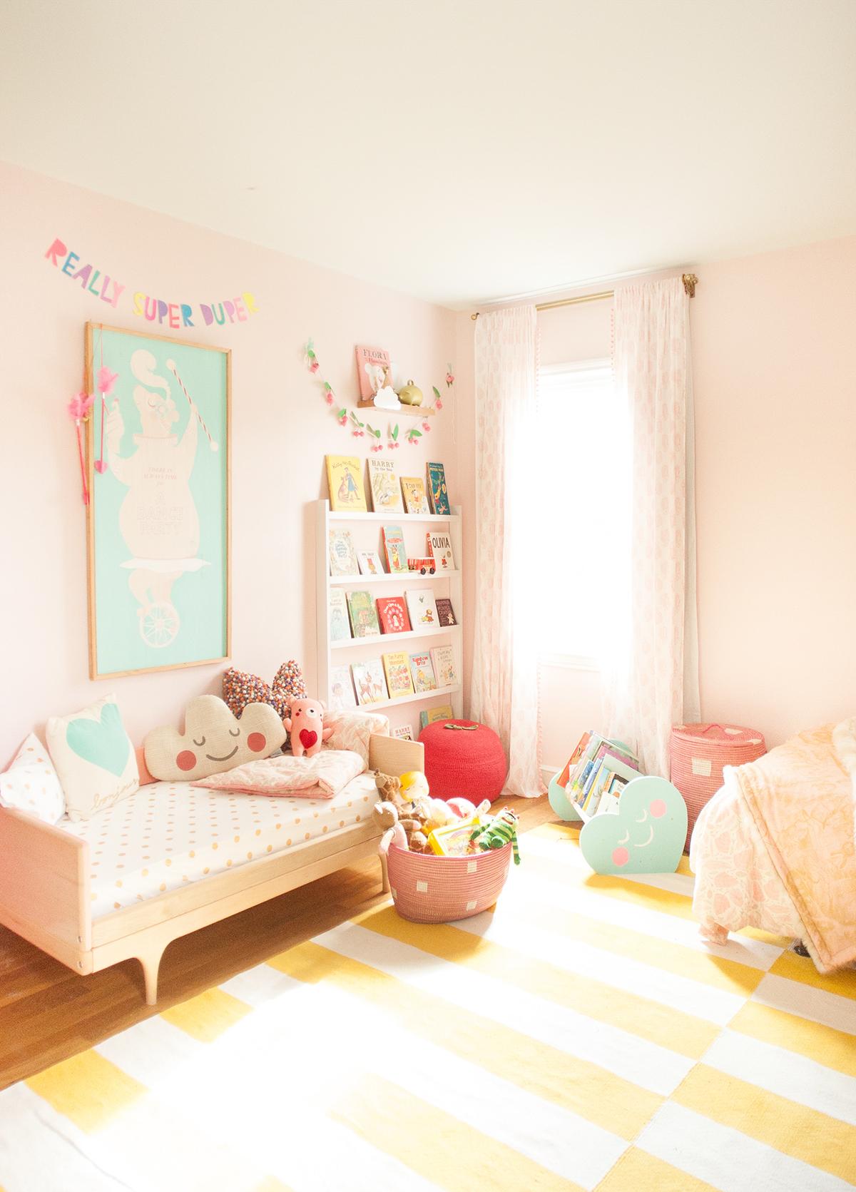 Baby Pink Floor Lamp