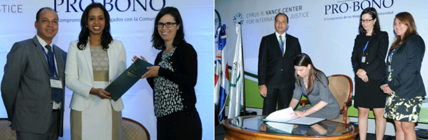PBDA gains new signatories at Dominican Pro Bono conference