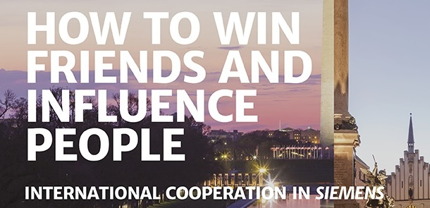 How to win friends and influence people - international cooperation in Siemens