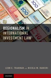 BOOK REVIEW: Regionalism in International Investment Law