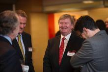 A&O celebrates Reynolds' IBA presidency