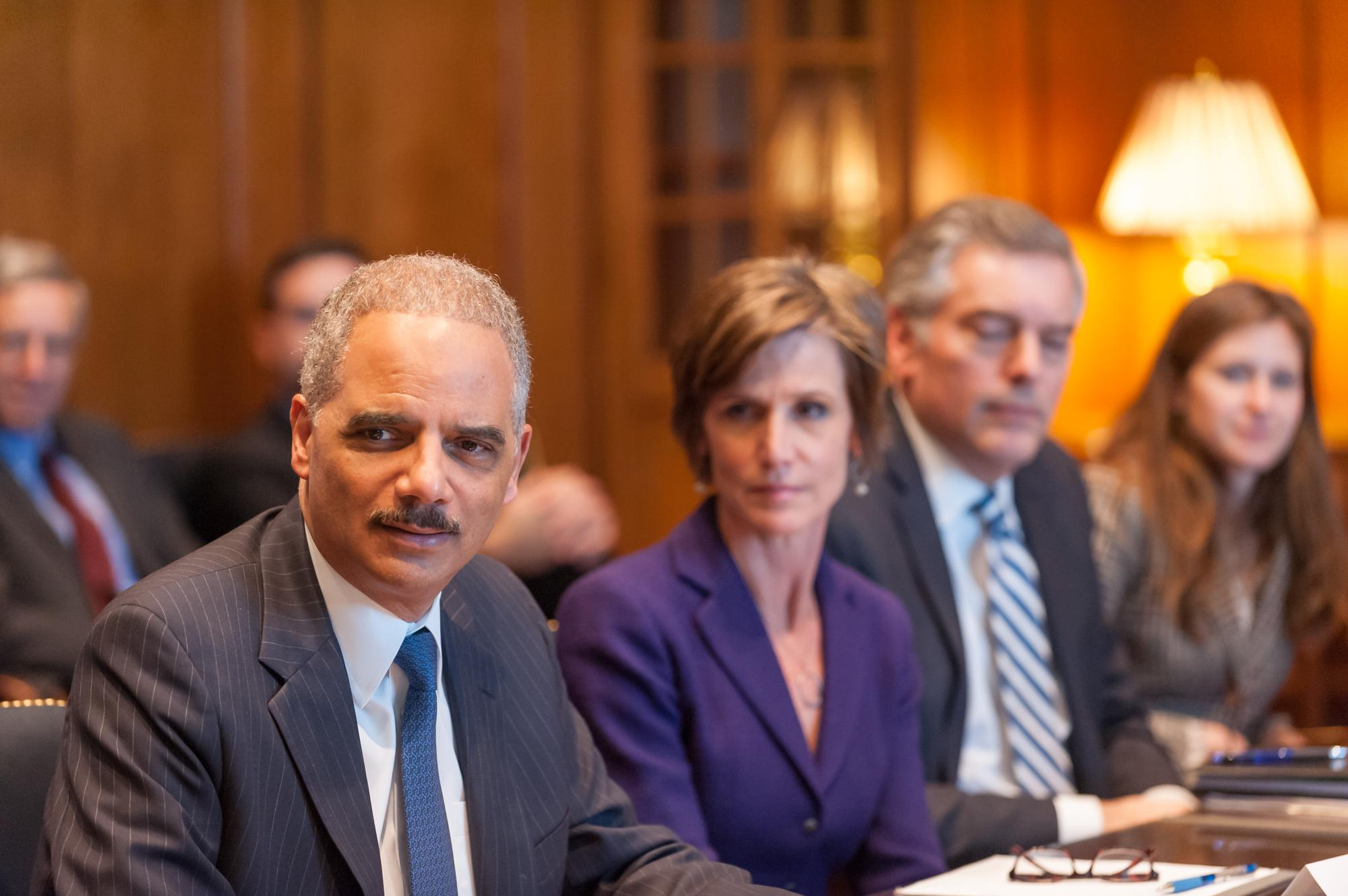 Eric Holder and Sally Yates