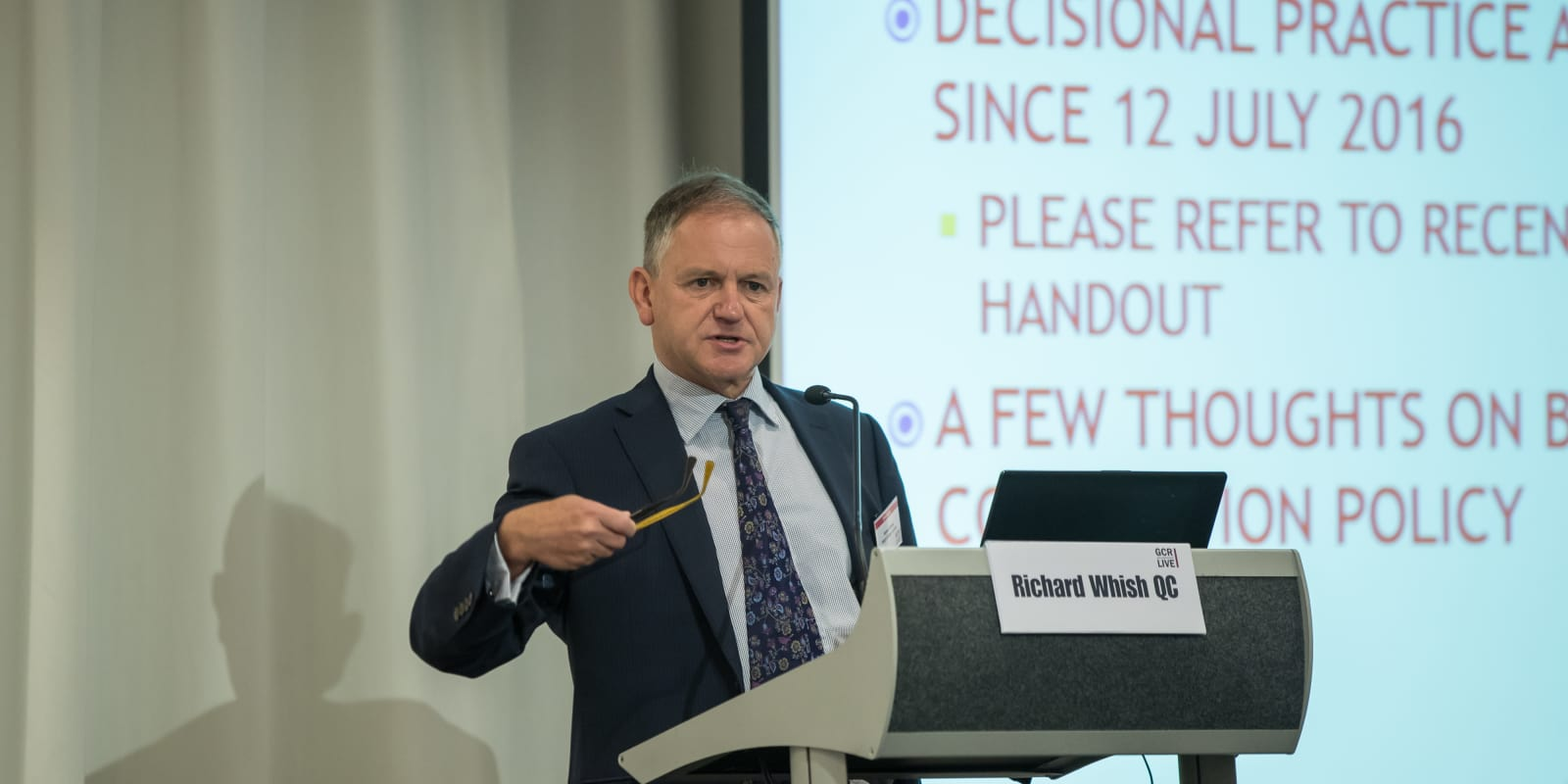 Whish urges restraint on algorithmic collusion