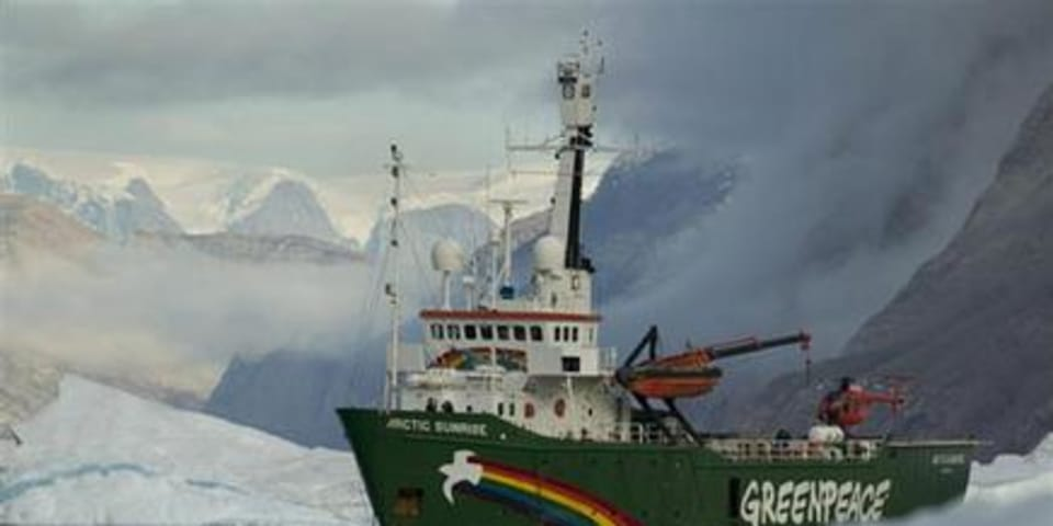 Russia held liable for Greenpeace ship arrest