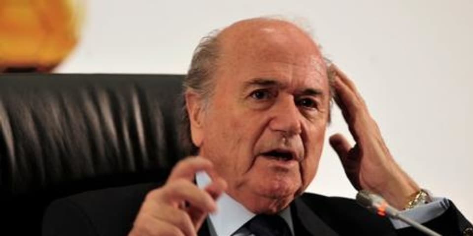 Blatter plans to turn to CAS