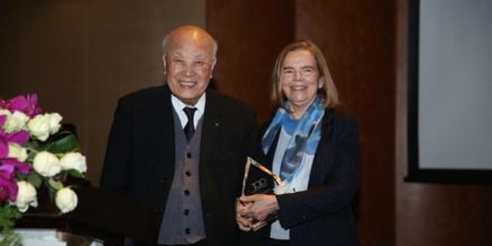 "Chinese arbitration ""pioneer"" honoured at GAR Awards"