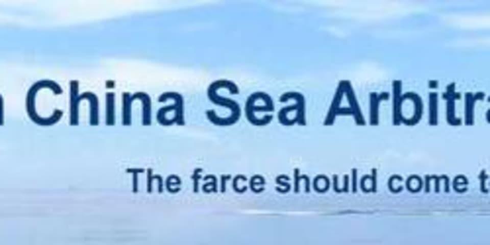 China rejects UNCLOS award