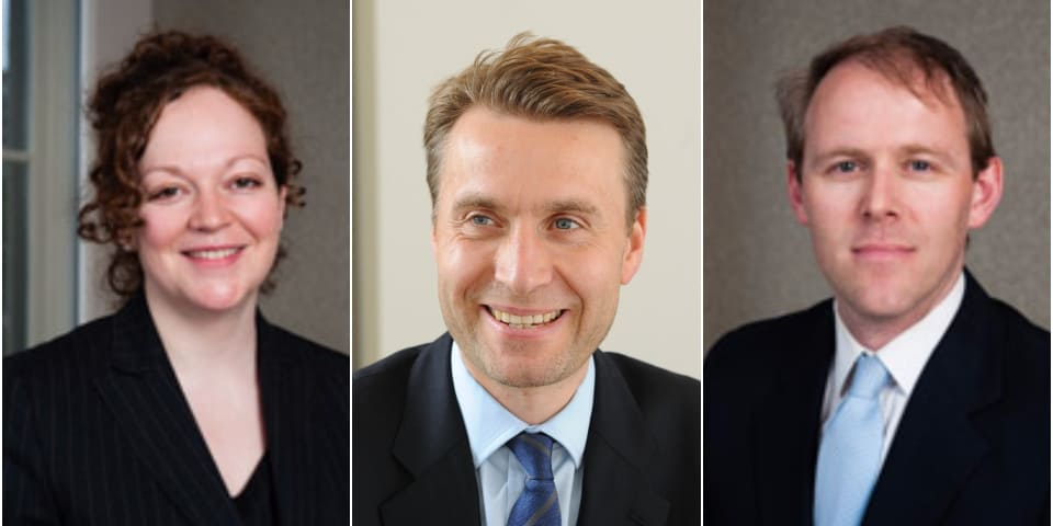 Three competition barristers take silk