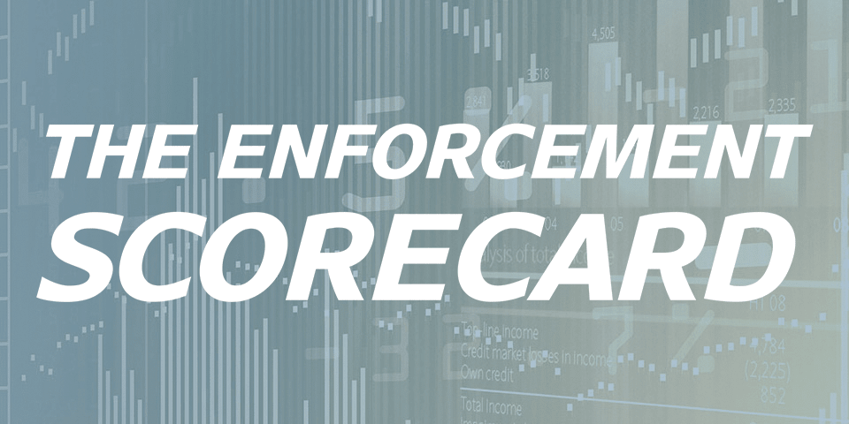 GIR launches the Enforcement Scorecard 2017