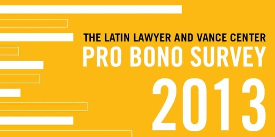 The Latin Lawyer and Vance Center pro bono survey