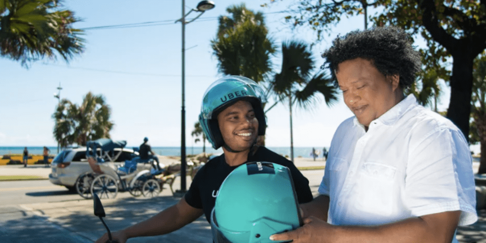 Pellerano & Herrera kick-starts Uber motorbike service in DR