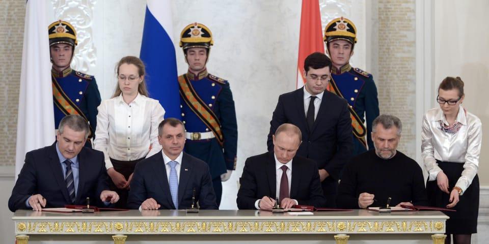 Crimea real estate claim goes forward