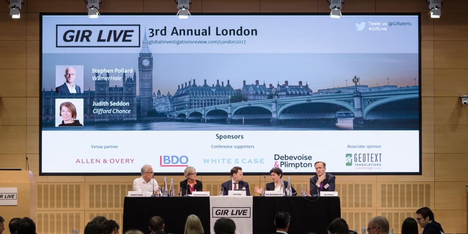 GIR Live London – DPAs: the new normal?