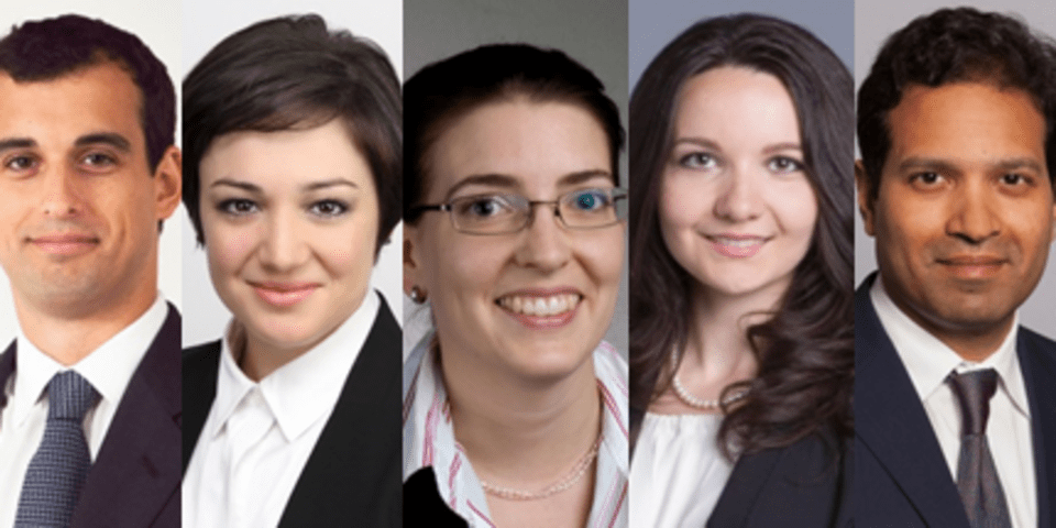 New leaders at ICDR under-40 group