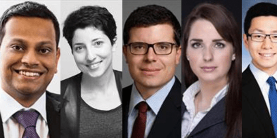 New leaders for CIArb's under-40 group