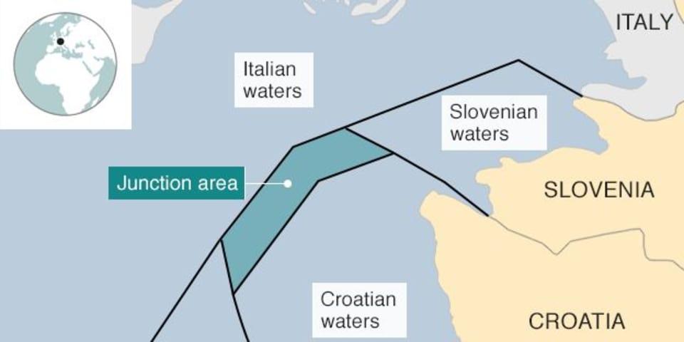 Tribunal rules on Croatia-Slovenia border