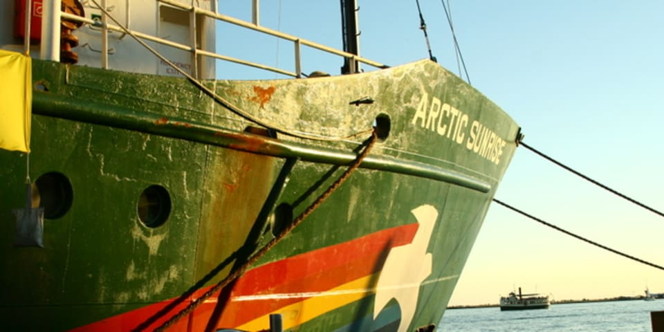 Russia ordered to pay for arrest of Greenpeace ship