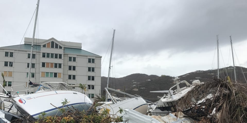 BVI focuses on reconstruction after hurricanes