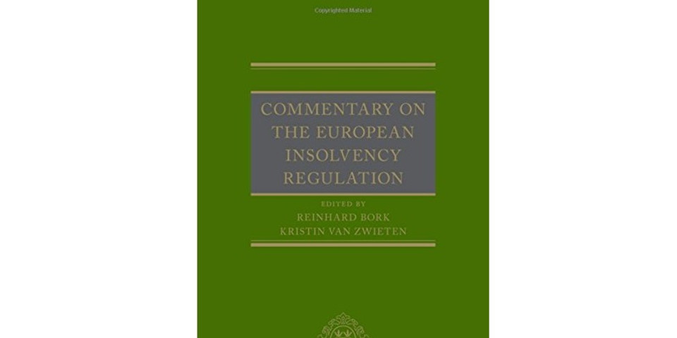 Book Review: Commentary on the European Insolvency Regulation