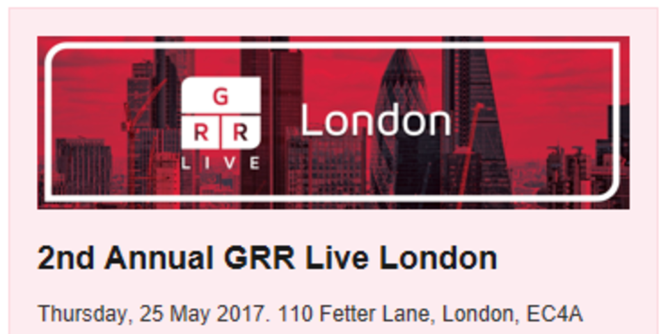 Lord Justice Richards to give keynote at GRR Live