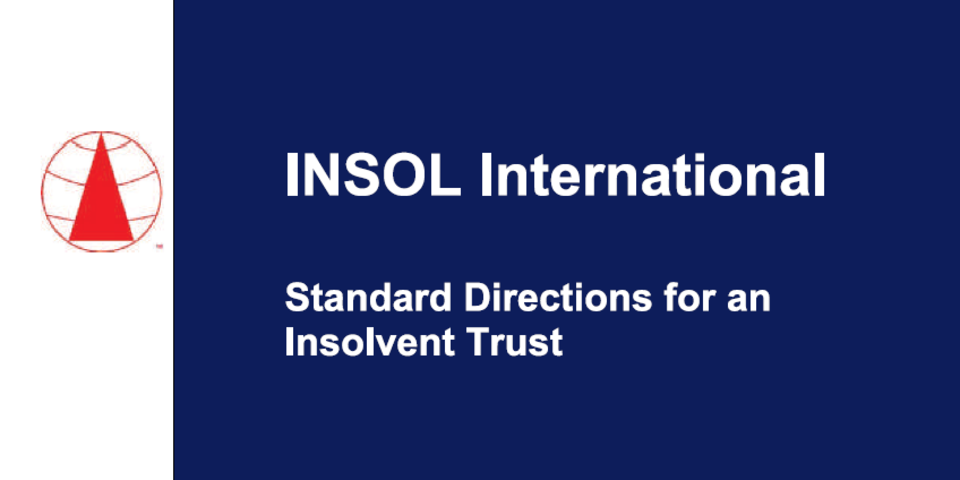 INSOL International develops model directions for insolvent trusts