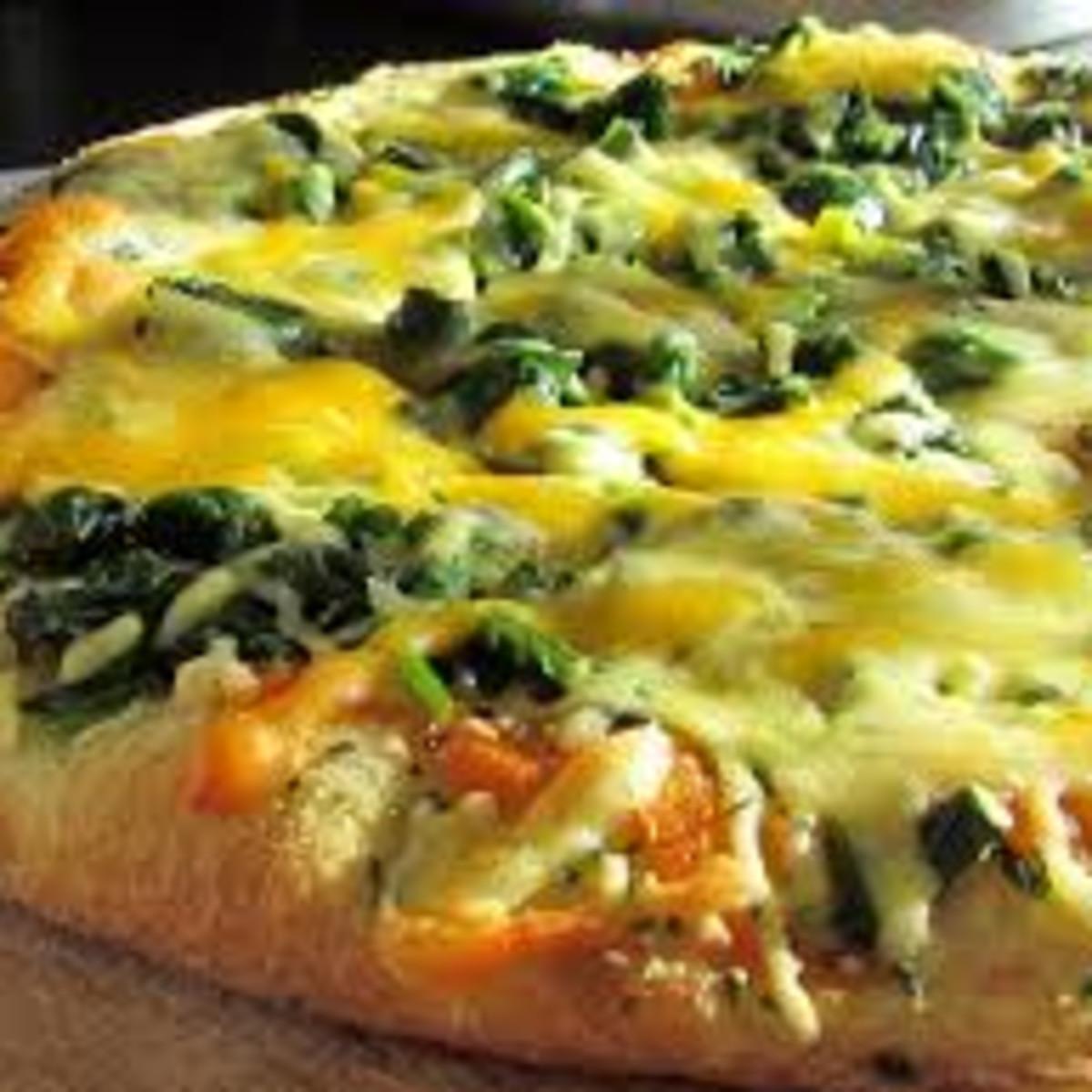 Быстрая пицца на кефире - пошаговый рецепт с фото на Повар. ру