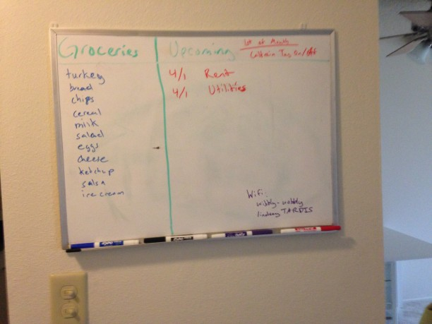 The Whiteboard of Doom