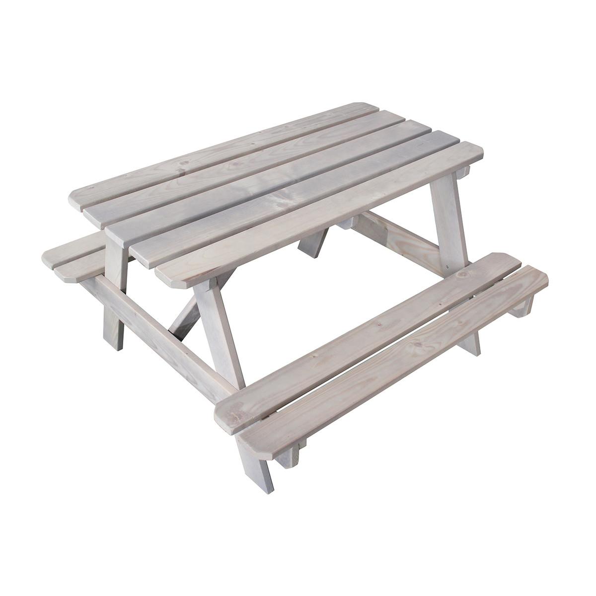 Tavolo pic nic legno pircher arredamento giardino prezzo for Panche in legno leroy merlin