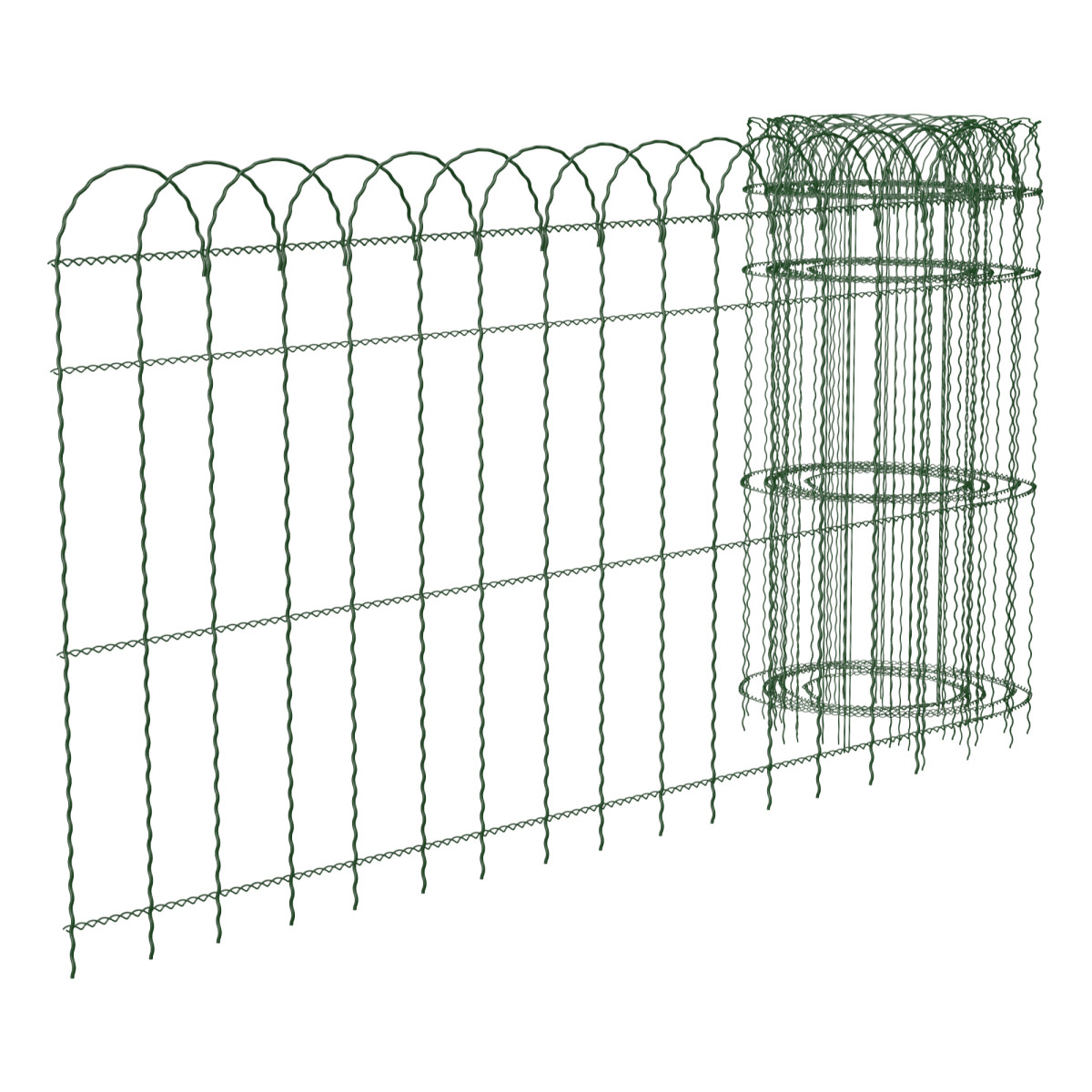 Bordura in resina recinzione per aiuole aiuola steccato for Bordure per aiuole leroy merlin