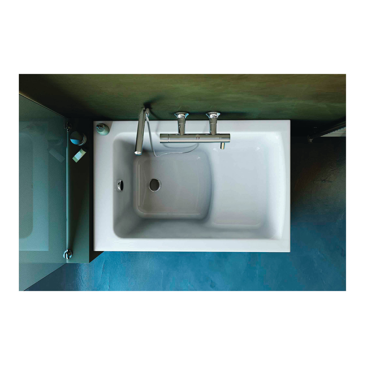 Ideal standard active b8071 miscelatore vasca e doccia est - Vasche da bagno leroy merlin ...