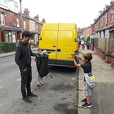 What a great day cleaning up our street with our neighbours in Harehills!