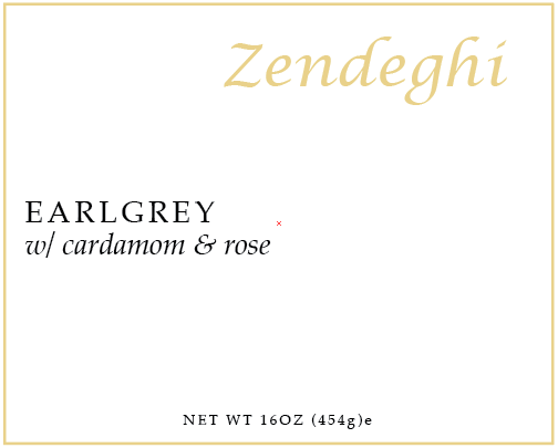 Zendeghi Sticker Label