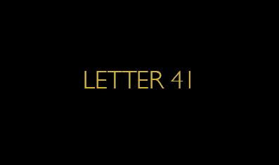 Letter41 Biz Card