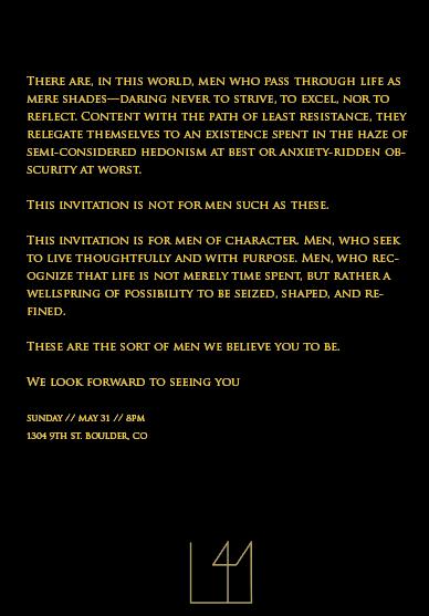 Letter41 Invitation