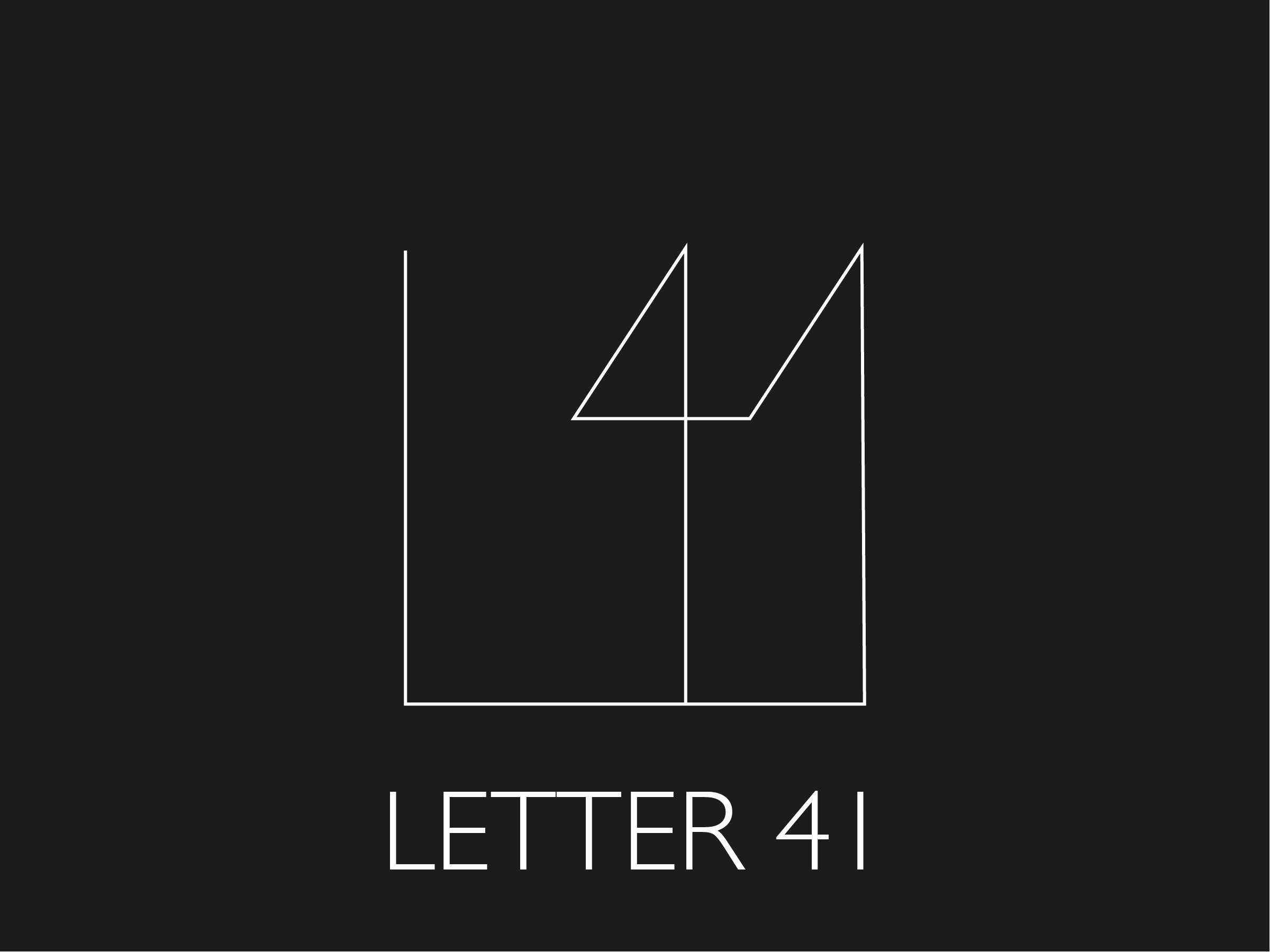 Letter41 Final Logo
