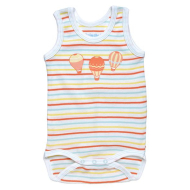 Under the Nile Summer Babybody Hot Air Balloons & Stripes