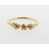 First Blooms, 18K Yellow Gold